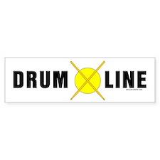 Drum Line Bumper Bumper Sticker