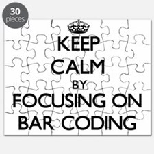 Keep Calm by focusing on Bar Coding Puzzle