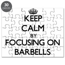Keep Calm by focusing on Barbells Puzzle