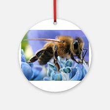 Honey - Bee Ornament (Round)