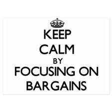 Keep Calm by focusing on Bargains Invitations
