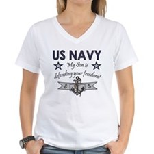 US NAVY My Son is defending your freedom1 T-Shirt
