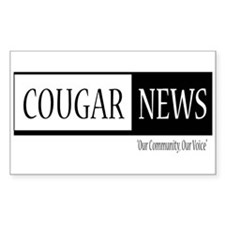 Cougar News Decal