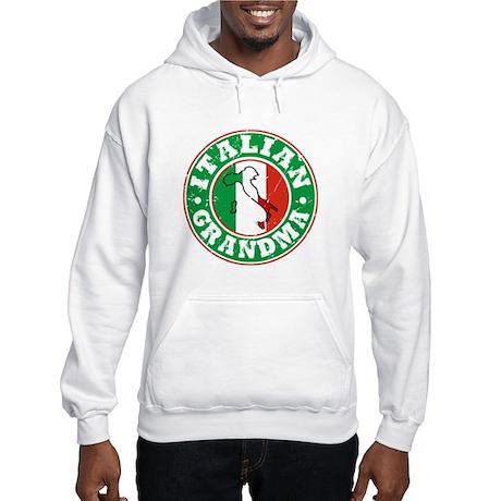 Italian Grandma Hooded Sweatshirt