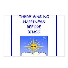 bingo Postcards (Package of 8)