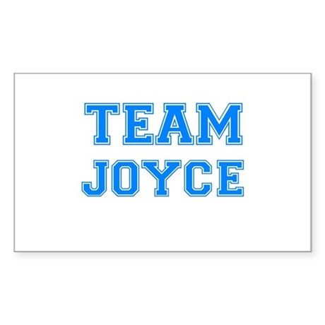 TEAM JOYCE Rectangle Sticker