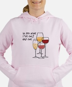 Funny In dog beers ive only had one Women's Hooded Sweatshirt