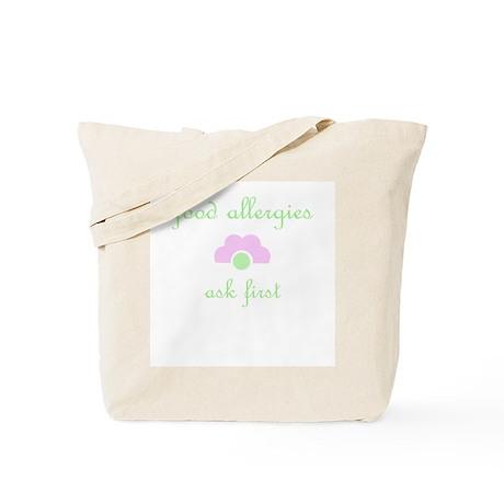 Food Allergies Tote Bag