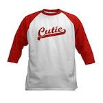 Cutie Kids Baseball Jersey