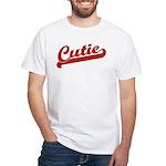 Cutie White T-Shirt