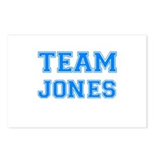 TEAM JONES Postcards (Package of 8)