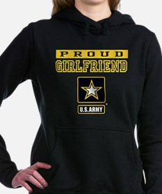 Proud Girlfriend U.S. Army Hooded Sweatshirt