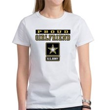 Proud Girlfriend U.S. Army Tee