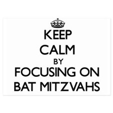 Keep Calm by focusing on Bat Mitzvahs Invitations