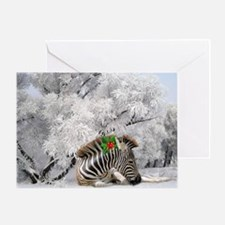 White Christmas Greeting Cards