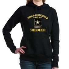 Proud U.S. Army Girlfriend Hooded Sweatshirt