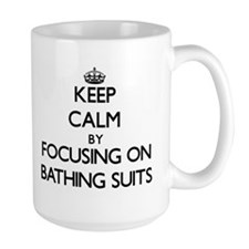 Keep Calm by focusing on Bathing Suits Mugs