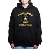 Army sister Hooded Sweatshirt
