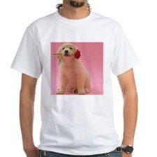 GOLDEN RETRIEVER PUPPY ROSE Shirt