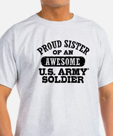 Proud U.S. Army Sister T-Shirt