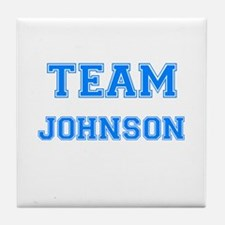 TEAM JOHNSON Tile Coaster