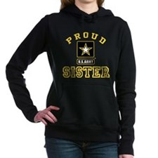 Proud U.S. Army Sister Women's Hooded Sweatshirt