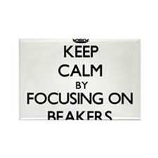 Keep Calm by focusing on Beakers Magnets
