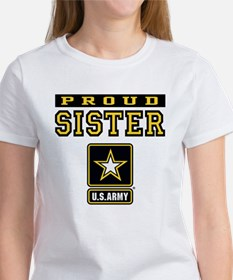 Proud Sister U.S. Army Women's T-Shirt