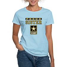 Proud Sister U.S. Army T-Shirt