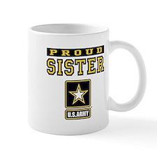 Proud Sister U.S. Army Mug