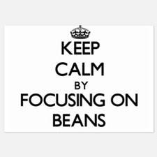 Keep Calm by focusing on Beans Invitations