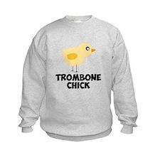 Trombone Chick Sweatshirt