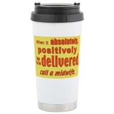 Cute Baby catcher Travel Mug