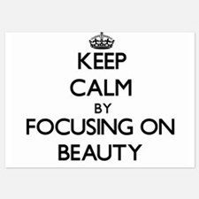 Keep Calm by focusing on Beauty Invitations
