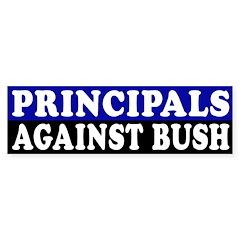 Principals Against Bush (bumper sticker)