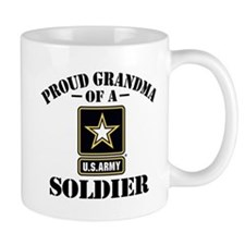 Proud U.S. Army Grandma Small Mug