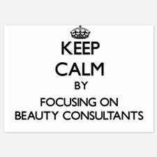 Keep Calm by focusing on Beauty Consul Invitations