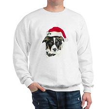 Border Collie Christmas Sweatshirt