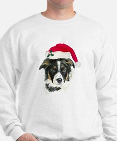 Border Collie Christmas Sweatshirt