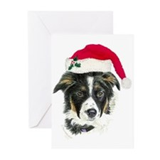 Border Collie Christmas Cards (Pk of 10)