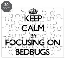 Keep Calm by focusing on Bedbugs Puzzle