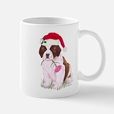 Saint Bernard Puppy Christmas Mug