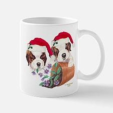 Saint Bernard Puppies Mug