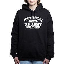 Proud U.S. Army Grandma Women's Hooded Sweatshirt