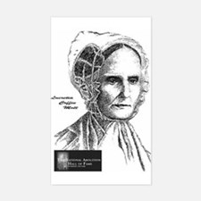 Lucretia Coffin Mott Rectangle Decal
