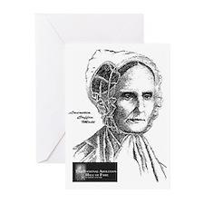 Lucretia Coffin Mott Greeting Cards (Pk of 10)