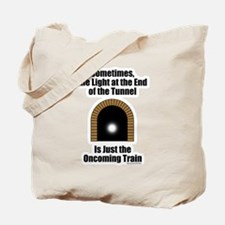 Oncoming Train Tote Bag