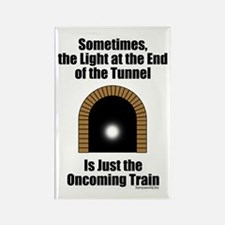 Oncoming Train Rectangle Magnet (10 pack)