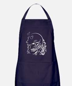The Creature from the Black Lagoon Apron (dark)