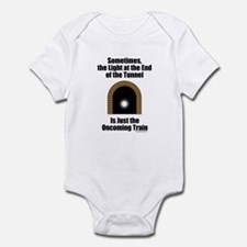 Oncoming Train Infant Bodysuit